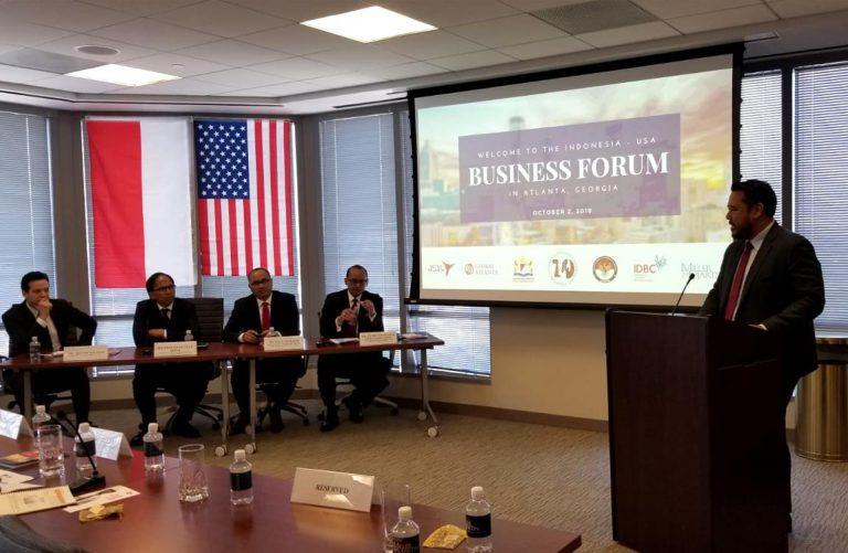 Aventure Speaks at Indonesia-USA Forum