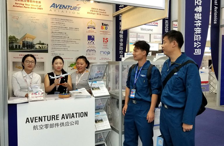 Aventure Shows Commitment to Chinese Market at Zhuhai Airshow
