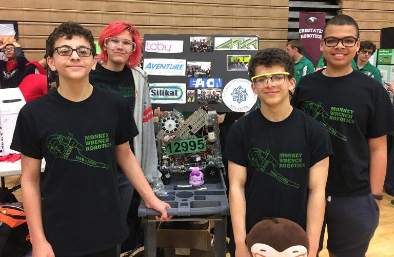 Student Robotics Team Sponsored by Aventure