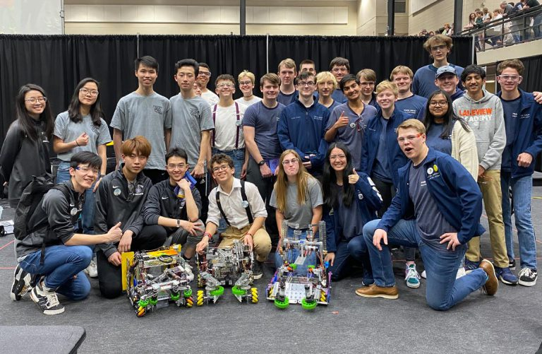 Student Robotics Team Sponsored by Aventure Advances to World Championship