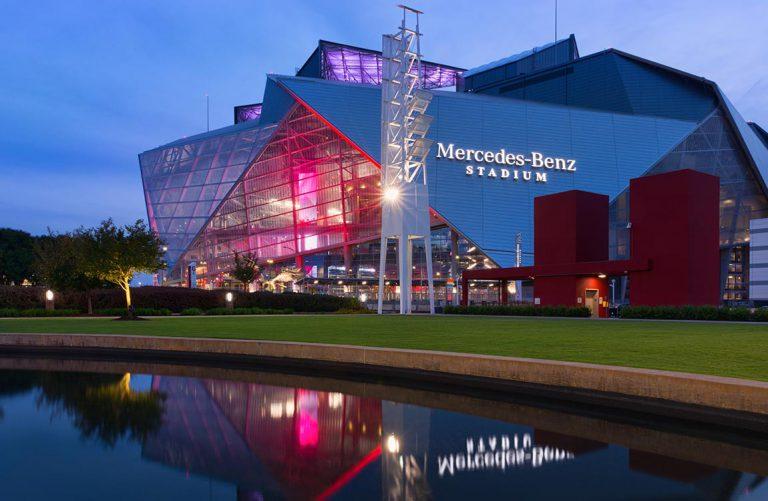 Aventure Hosts VIP Reception at Mercedes-Benz Stadium during MRO Americas