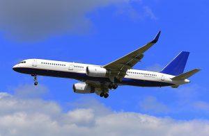 Boeing 757-200 in flight