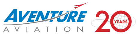 Aventure Aviation 20 Years logo