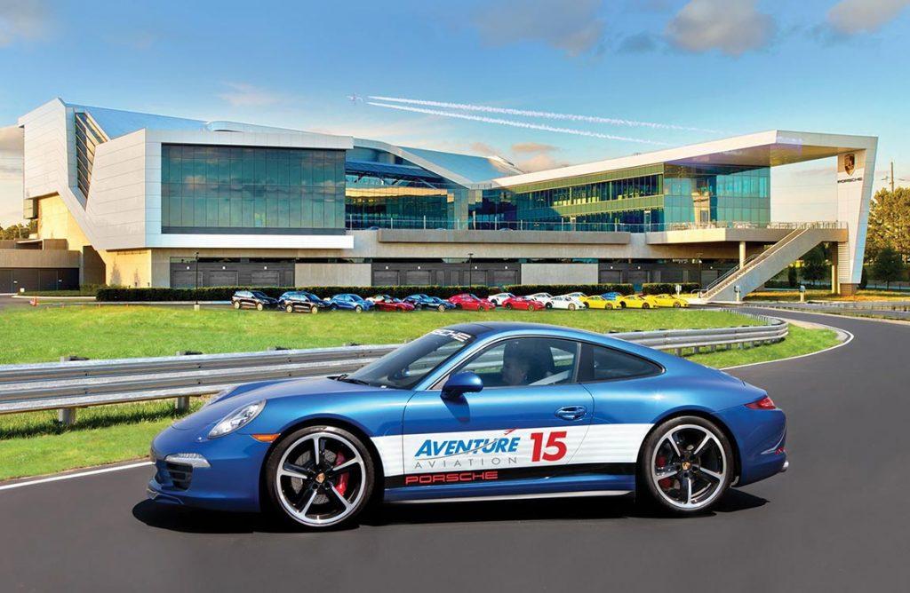 "Aventure Aviation celebrates its 15th Anniversary with a ""Grand Prix"" event at Atlanta's Porsche Experience Center"